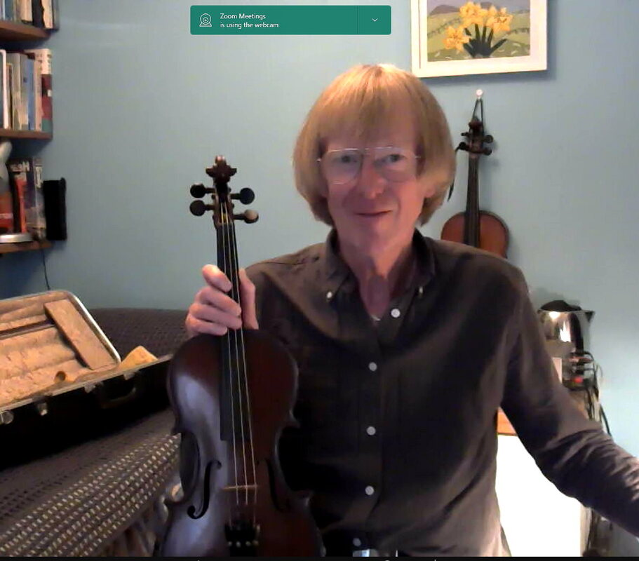 Online violin lessons with Bill Anderton